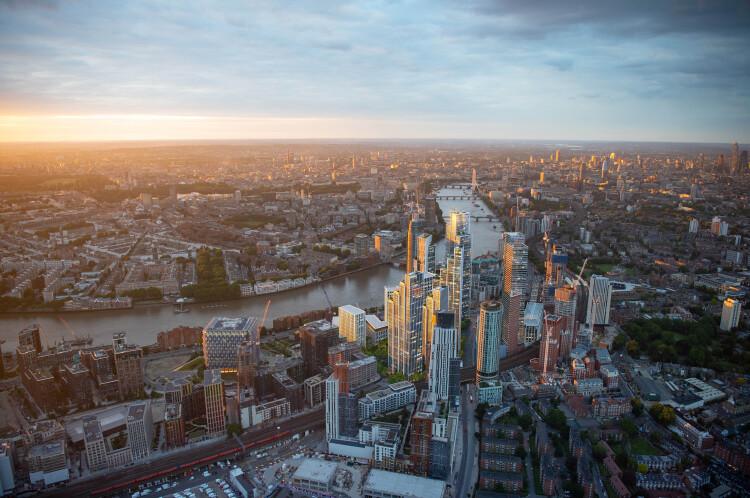 伦敦 ONE THAMES CITY 泰晤士河一号 伦敦一区绝版地段,泰晤士河景天际豪宅