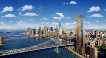 曼哈顿广场一号 One Manhattan Square